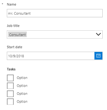 Integrating a checklist into your SharePoint item with