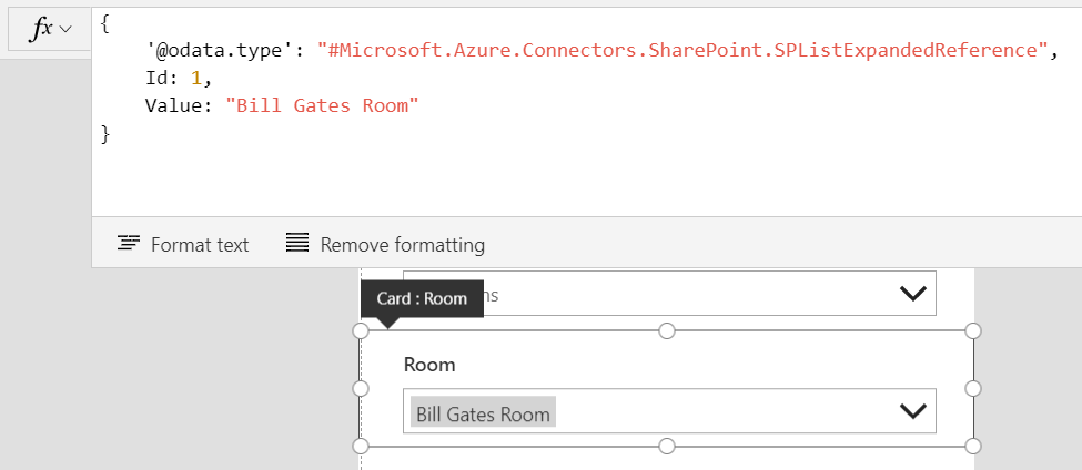 Handling SharePoint lookup and people fields in PowerApps