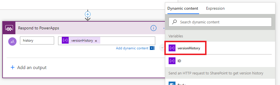 View SharePoint item version history in PowerApps - About365